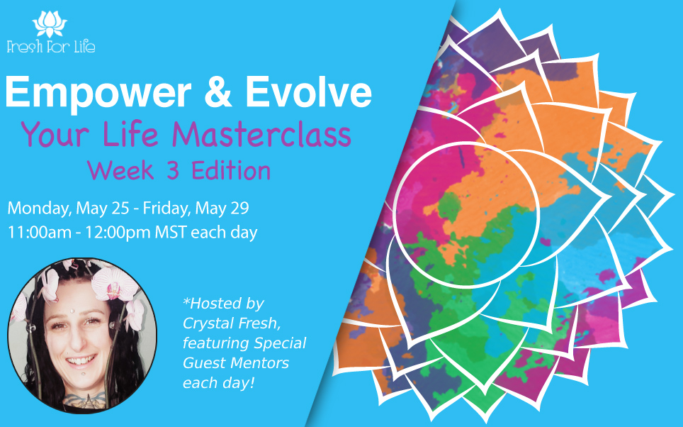 Empower and Evolve Your Life Webinar week 3